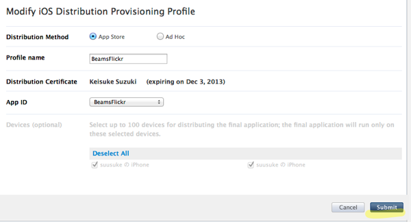 Distribution Provisioning Profiles  iOS Provisioning Portal  Apple Developer